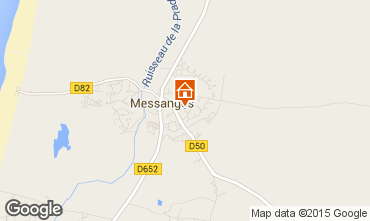 Karte Messanges Villa 82072