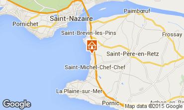 Karte Saint Brevin les Pins Mobil-Home 101707