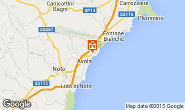 Karte Avola Villa 79539