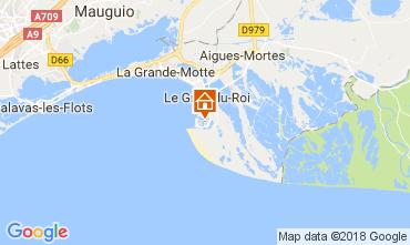 Karte Le Grau du Roi Appartement 98080
