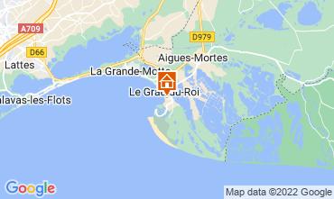 Karte Le Grau du Roi Appartement 114395