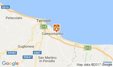 Karte Campomarino Appartement 110586