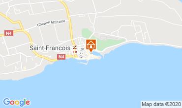 Karte Saint Francois Studio 67507