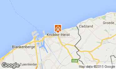 Karte Knokke-Zoute Appartement 9581
