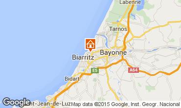 Karte Biarritz Haus 59658
