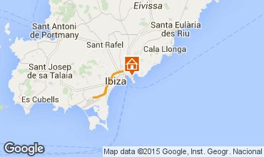Karte Ibiza Appartement 87083