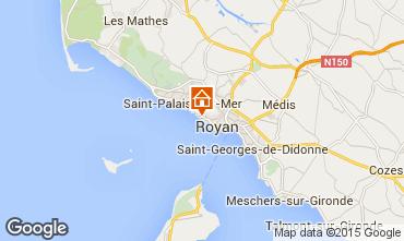Karte Royan Appartement 6782