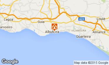 Karte Albufeira Appartement 32301