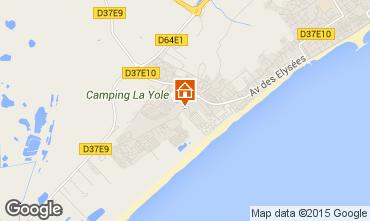 Karte Valras-Plage Villa 73117