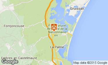 Karte Sigean Mobil-Home 90647