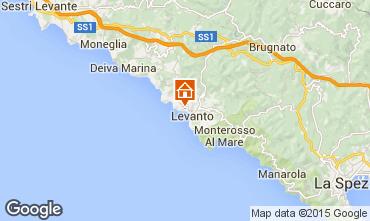 Karte Levanto Villa 100451