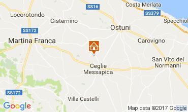 Karte Ostuni Villa 109481