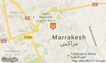 Karte Marrakesch Haus 14098