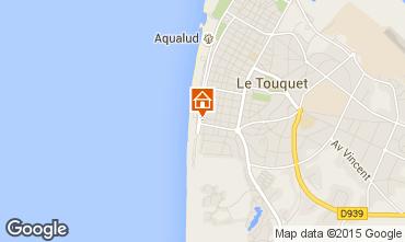Karte Le Touquet Studio 71541