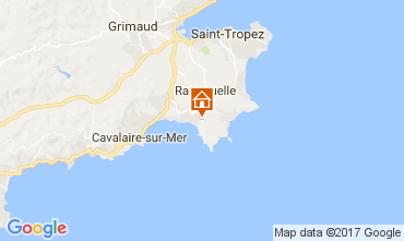 Karte La Croix Valmer Villa 111829