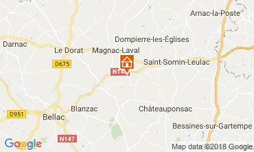 Karte Bellac Chalet 114743