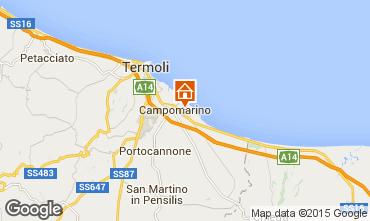 Karte Campomarino Appartement 57140