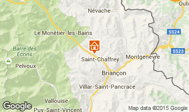 Karte Serre Chevalier Chalet 2856