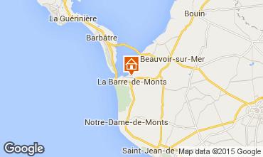 Karte Saint Jean de Monts Haus 31169