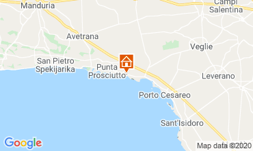 Karte Porto Cesareo Appartement 52373