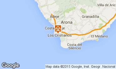 Karte Los Cristianos Appartement 99539