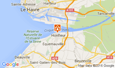 Karte Honfleur Appartement 106122