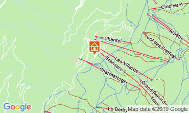 Karte Les Arcs Appartement 57964