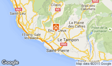 Karte L'Entre Deux Villa 73361