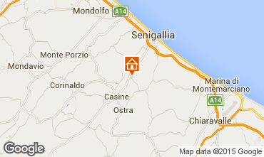 Karte Senigallia Appartement 87655