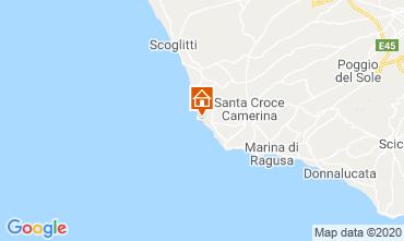 Karte Marina di Ragusa Appartement 48123