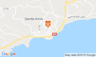 Karte Sainte Anne (Guadeloupe) Bungalow 118496