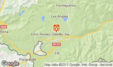 Karte Bolquère Pyrenées 2000 Appartement 39144