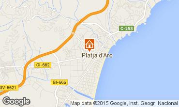 Karte Playa d'Aro Appartement 87177
