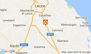 Karte Lecce Villa 113783