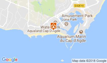 Karte Cap d'Agde Appartement 95210