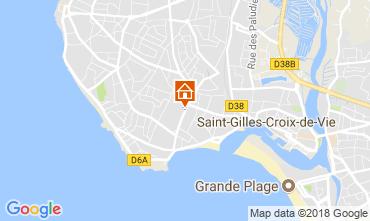 Karte Saint-Gilles-Croix-de-Vie Haus 113835