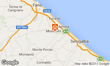 Karte Fano Appartement 67165