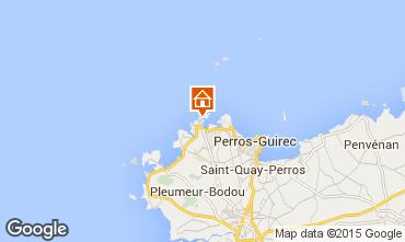 Karte Perros-Guirec Villa 20886