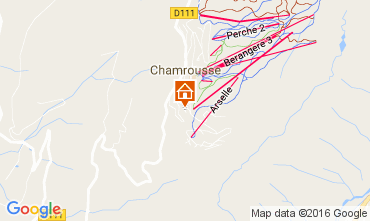 Karte Chamrousse Appartement 16753