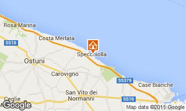 Karte Ostuni Villa 95650