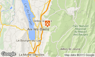 Karte Aix Les Bains Haus 84393
