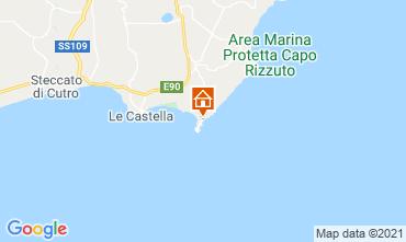 Karte Isola di Capo Rizzuto Appartement 89444