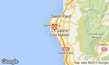 Karte La Saline les Bains Villa 78754
