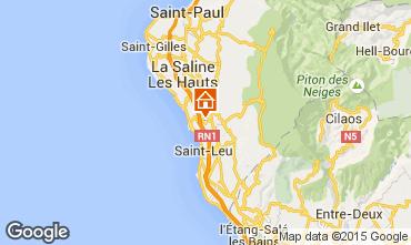 Karte Saint Leu Villa 84364