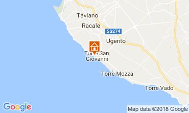Karte Ugento - Torre San Giovanni Appartement 94486