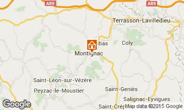 Karte Montignac sur Vézère (Grottes de Lascaux) Haus 83435