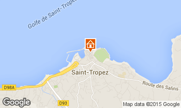 Karte Saint Tropez Studio 80076