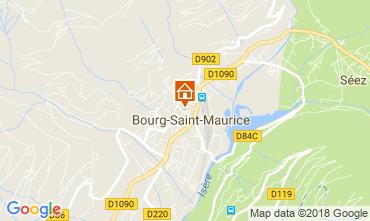 Karte Bourg Saint Maurice Appartement 286