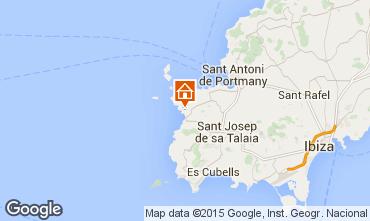 Karte Cala Tarida Studio 54638