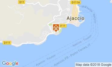 Karte Ajaccio Appartement 115712